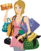 Handbags are a good complement for most outfits.