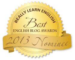 Best English Blog Awards 2013 Badge Gold