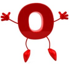 happy dancing letter O