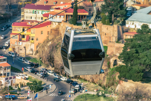 Aerial Cable Car and Narikala Fortress