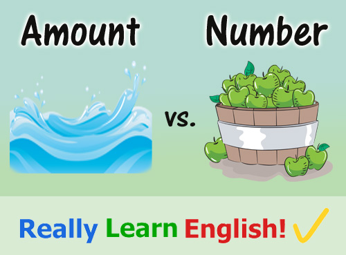 Amount vs. Number