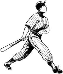 a baseball player