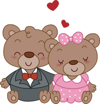 I have two bears.