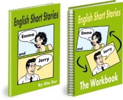 English Short Stories Book and Workbook (ESL Short Stories and Exercises)