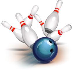 bowling crash