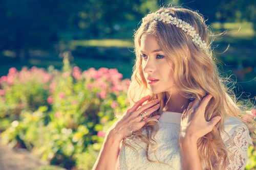 Bride with Wedding Tiara