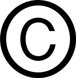 history of the copyright symbol copyright symbol