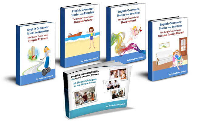 English Grammar Stories And Exercises