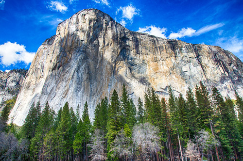 El Capitan, Yosemite National Park, the United States of America.