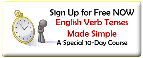 English Verb Tenses Made Simple, a Special 10-Day Course for FREE