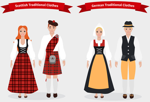 Other synonyms for costume are traditional dress and outfit.