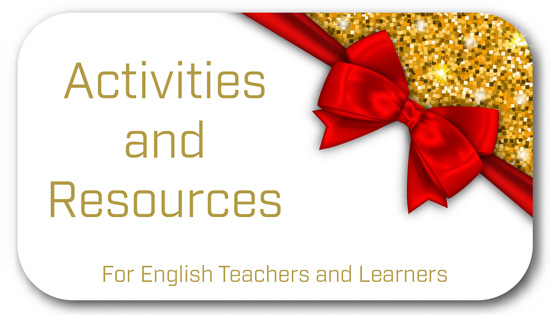 Activities and Resources for English Teachers and Learners