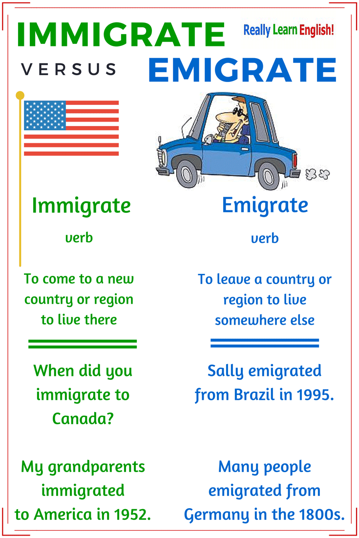 Immigrant Vs Emigrant Vs Migrate What Is The Difference