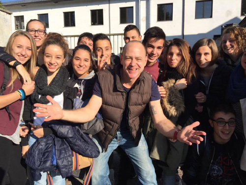 Jason R Levine and students