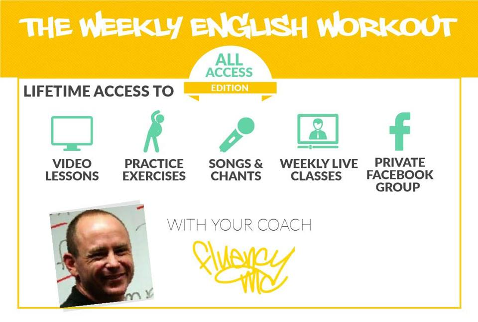 Weekly English Workout Starter course for FREE