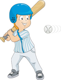 A strike in baseball is when a batter swings and misses the ball.