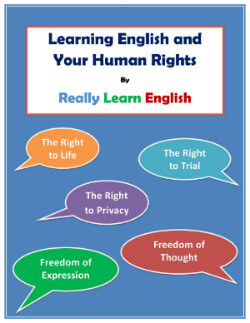 Learning English and Your Human Rights booklet