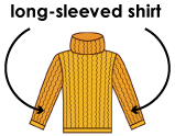 long-sleeved shirts