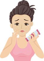 Oily pores
