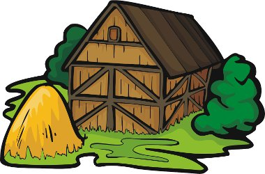 Did you used to live in a barn?