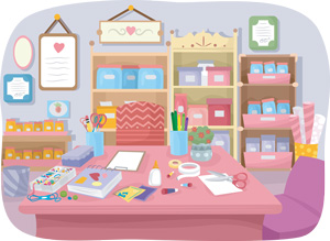 a stationery store