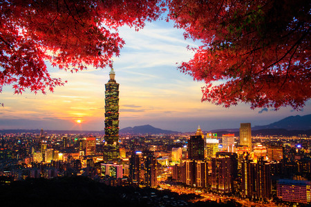 Taipei, the New and the Old
