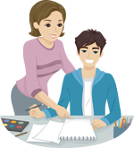 Helping a student