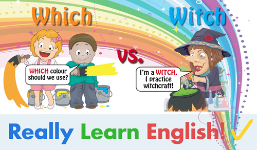Which vs. Witch