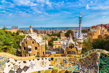 Park Guell by architect Gaudi