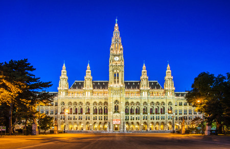 Rathaus Mayor office in Vienna