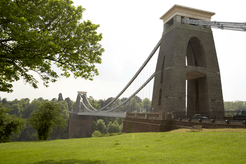 A suspension bridge in Bristol